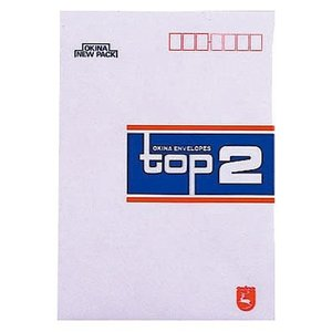 オキナ 洋型封筒 ET2 トップ2 10枚 (メール便・送料込み・送料無料・代引き不可・日時指定不可) tabaki3
