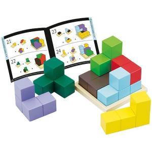 ●セット内容/ブロック7個、木製プレート1枚、テキストブック1冊●最小ブロック/60×60×30mm...
