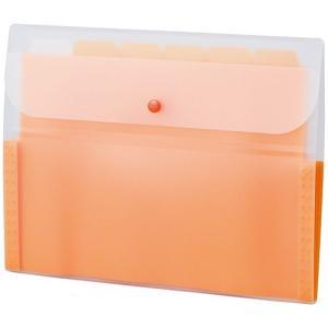 セキセイ アクティフ ドキュメントホルダー A4 オレンジ ACT-3906-51|tabaki3