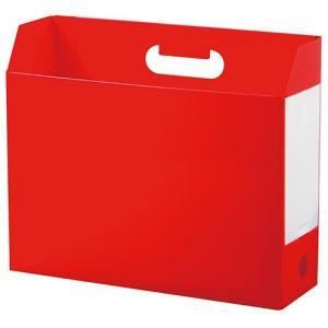 セキセイ アドワン ボックスファイル A4ヨコ レッド AD-2651-20|tabaki3