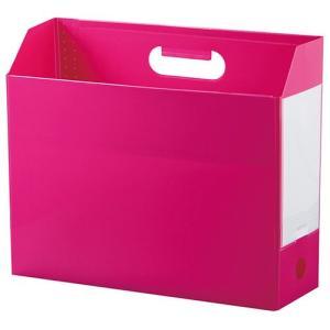 セキセイ アドワン ボックスファイル A4ヨコ ピンク AD-2651-21|tabaki3