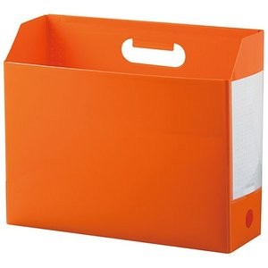 セキセイ アドワン ボックスファイル A4ヨコ オレンジ AD-2651-51|tabaki3