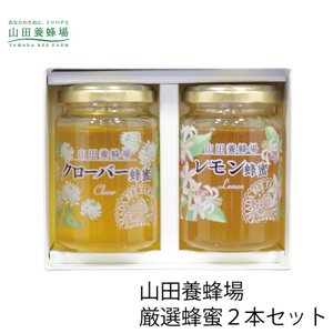 (送料無料) 山田養蜂場 厳選蜂蜜2本セット G2-20 (G1704-801) (個別送料を含んだ価格です)|tabaki3