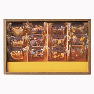 お歳暮 ホシフルーツ ナッツとドライフルーツの贅沢ブラウニー 12個 HFZB-12 (-99028-07-) (個別送料込み価格) (t3) | 内祝い 出産|tabaki|02