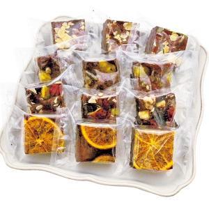 お歳暮 ホシフルーツ ナッツとドライフルーツの贅沢ブラウニー 12個 HFZB-12 (-99028-07-) (個別送料込み価格) (t3) | 内祝い 出産|tabaki|03