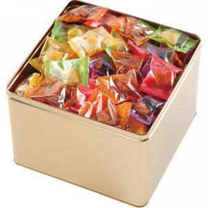 (送料込・送料無料)亀田 おもちだま ゴールド缶 おもちだまG (386-560)
