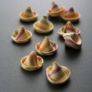 パドンニ Padonniパスタ 「ストライプ小さい帽子」CP-02|tabelier