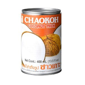 チャオコー ココナッツミルク (400ml) ハラル認証(ハラール)|tabeluca