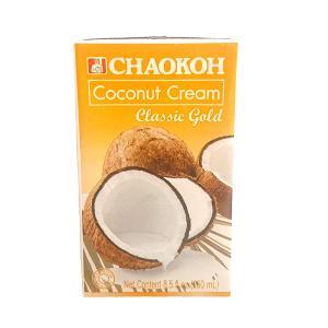 【限定特価 4月30日12:00まで】ココナッツクリーム クラシックゴールド チャオコー 250ml ハラル認証(ハラール) 送料無料|tabeluca