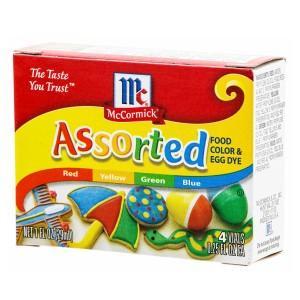 ユウキ食品 マコーミック フードカラーボックス アソート 着色料製剤 お届けまで1週間〜10日前後  送料無料  ゆうパケット