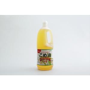 お徳用サイズ こめ油 1500g  【米オイル 築野食品 つの 米サラダ油 米油】|tabemon-dikara