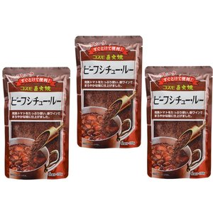 コスモ直火焼 ビーフシチュールー 150g×3袋  【コスモ食品 フレーク】|tabemon-dikara