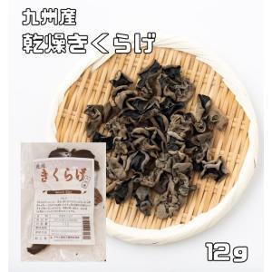 乾物屋の底力 九州産 乾燥きくらげ 12g 【木耳 無添加】|tabemon-dikara
