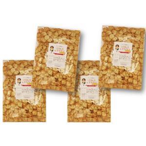 グルメな栄養士の のりセサミ 1kg(250g×4袋)  【セサミクラッカー セサミスナック】|tabemon-dikara
