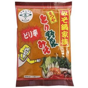 店長が大好きな とり野菜みそ(ピリ辛) 200g 【まつや みそ鍋家族】