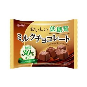 グルメな栄養士セレクト洋菓子 低糖質 ミルクチョコレート 150g 【正栄デリシィ ファミリーパック チョコレート 糖質30%オフ】|tabemon-dikara