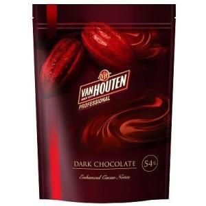 バンホーテン ダークチョコ 1kg   【Van Houten DARK CHOCOLATE クーベルチュール プロフェッショナル】
