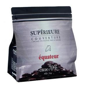 大東カカオ スペリオール エクアトゥール 1kg      【Couverture Supérieure クーベルチュール チョコレート 製菓材料 カカオ】