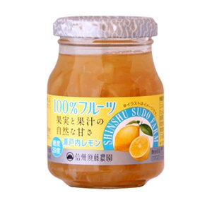 ★さわやかな酸味が良い瀬戸内レモンをたっぷり使用したジャムです。デザートつくりにも最適なジャムで手作...