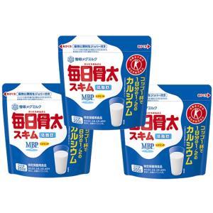 雪印メグミルク 毎日骨太 スキム 200g×3袋   【トクホ MVP 特定保健用食品 低脂肪】|tabemon-dikara