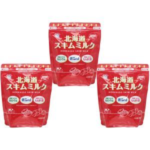 雪印メグミルク 北海道スキムミルク 360g×3袋 【低脂肪 脱脂粉乳 製菓材料 製パン材料】|tabemon-dikara
