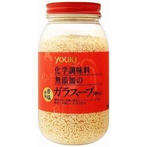 ユウキ食品 化学調味料無添加のガラスープ 400g     【岩塩使用 YOUKI 顆粒 マコーミック 中華調味料 エスニック】|tabemon-dikara