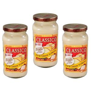ハインツ クラシコ 4チーズアルフレッド 420g×3個    【HEINZ CLASSICO 調味料 パスタソース リゾット】|tabemon-dikara