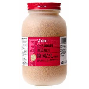 ユウキ食品 化学調味料無添加の韓国だし 400g×12個   【YOUKI 業務用 顆粒 牛肉ベース】 tabemon-dikara