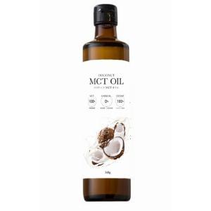 フラット・クラフト MCTオイル 360g     【ココナッツ由来100% 中鎖脂肪酸 中鎖脂肪酸率100% 添加物不使用】|tabemon-dikara