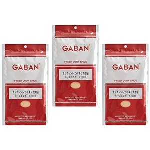 GABAN  ナシゴレンシーズニング(袋) 100g×3袋    【ミックススパイス 香辛料 パウダー 業務用 インドネシア炒飯】|tabemon-dikara