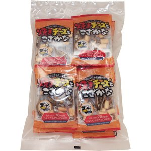 扇屋食品 焼きチーズとこざかな   7g×20P×20袋   【個包装 小魚 おつまみ 珍味 国産 国内産】|tabemon-dikara