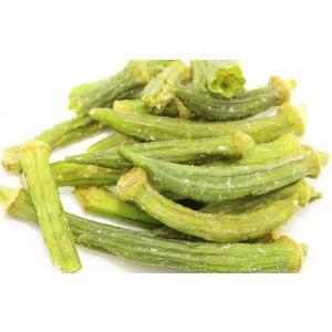 世界の乾燥野菜 ベトナム産 オクラチップ 900g    【ドライ 干し 乾燥オクラ】|tabemon-dikara