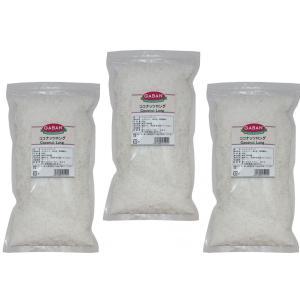 GABAN ココナッツロング(袋) 250g×3袋  【スパイス ハウス食品 香辛料 業務用 製菓材料】|tabemon-dikara