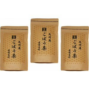グルメな栄養士の選んだ 九州産ごぼう茶 60g(2g×30包)×3袋  【牛蒡茶 国産100% 業務用 吉良食品】 tabemon-dikara