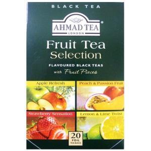 世界美食探究 AHMAD TEA フルーツセレクション(ティーパック) 40g(2g×5袋×4種)