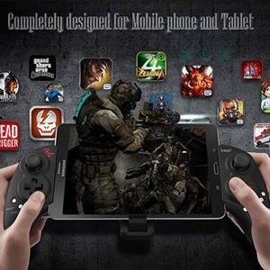 Android/iOS/Windwos対応 iPega PG-9023 Bluetooth ゲームコントローラー ゲームパッド 伸縮性ホルダー iPhone、タブレット対応|tabhonpo