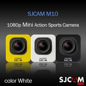 SJCAM M10 アクション スポーツカメラ GOPROにも負けない HD出力対応 ホワイト 【ドライブレコーダー機能 防水カメラ 自転車 動画】|tabhonpo