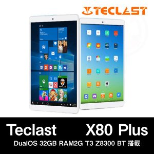 【8インチ 8型】Teclast X80 Plus DualOS 32GB RAM2G T3 Z8300 BT搭載|tabhonpo