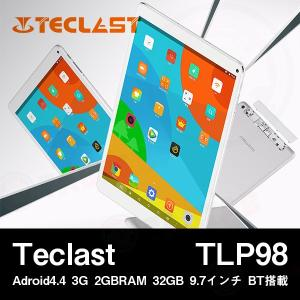 【9.7インチ 9.7型】Teclast TLP98 Adroid4.4 3G 2GBRAM 32GB 9.7インチ BT搭載【タブレット PC 本体】|tabhonpo