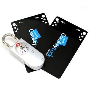 荷物の施錠に!カードのTSAロック!TSAカードキーロック TL-04T旅行用品【メール便配送可能】