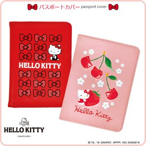 ハローキティ(HELLO KITTY) パスポートカバー(サンリオ キャラクター トラベルグッズ か...