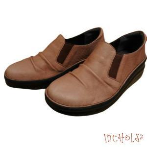 【インコルジェ 8303 ピンク】くしゅっとかわいい脱ぎ履きらくらくシューズ|tabikutsuya