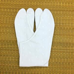 文楽足袋 レース足袋 No.3 花柄(マーガレット)ほっそり型 21.5cm〜25.0cm tabinotane