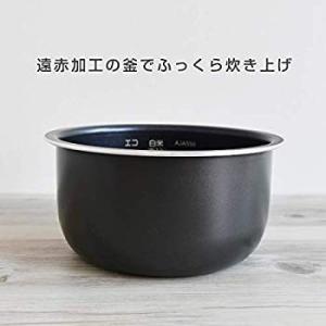 タイガー 炊飯器 3合 マイコン 一人暮らし用 レシピ付 シンプルホワイト tacook 炊きたて JAJ-A552-WS|tabito-haruru-store