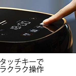 パナソニック 炊飯器 3.5合 IH式 ブラック SR-KT067-K|tabito-haruru-store