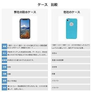 iphone XS 防水 ケース iPhone X 防水 ケース アイフォンXS 防水ケースカバー完全防水 IP68規格 無線充電サポートフ|tabito-haruru-store