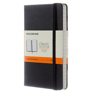 モレスキン ノート クラシック ハード 横罫 ポケット MM710 黒