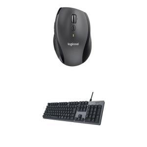 ロジクール生産性アップセット ワイヤレスマウスM705m + メカニカルキーボードK840 セット