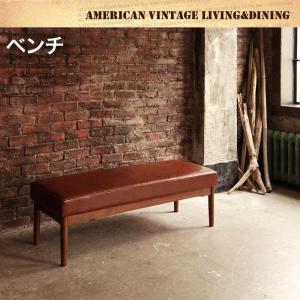 ダイニングベンチ 2人掛けベンチ ヴィンテージ調|table-lukit