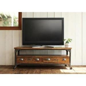 テレビ台 ローボード おしゃれ 120cm幅 西海岸 テレビボード ヴィンテージデザイン table-lukit